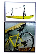 Fietslift 20kg fiets plafond ophangsysteem plafondmontage schuur garage 867