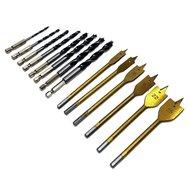 Set bit boren titanium speedboor en spiraal houtboor set hout 14 delig boor