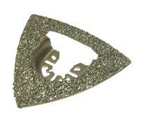 Rasp Driehoek goud 80 x 80 x 80 mm Multi-Tool voor hout, plastic, Steen, mortel, enz