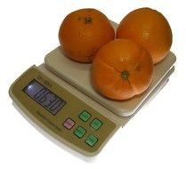 Digitale weegschaal 1 gram nauwkeurig tot 5kg met verlicht display