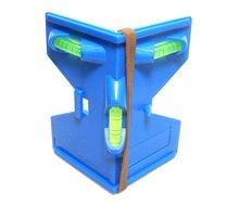 Paalwaterpas hoek paal waterpas met magneet strips en elastiek