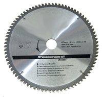 Cirkelzaagblad Aluminium TCT Ø 250 x Ø 30mm 80 Tands incl verloopringen 25,20 en 16mm
