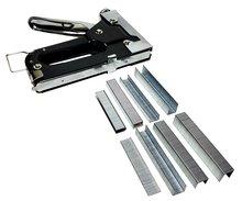 Handtacker Nietmachine Nietpistool Tacker met 3600 Nietjes in koffer