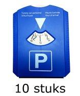 10x Parkeerkaart, wisser zeem en ijskrabber in 1 parkeer kaart ijs krabber winter