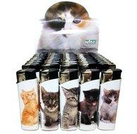 50 X Poes kitten kat print aansteker klik navulbaar afbeeldingen
