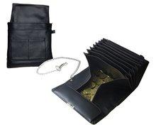 Horeca Taxi portemonnee koopmansbeurs met ketting en riemhouder holster