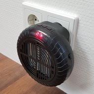 Mini Kachel Compact 900 Watt badkamer, keuken, slaapkamer, kantoor, werkplaatskachel heater