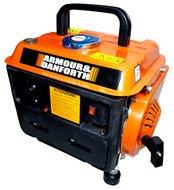 Generator benzine Aggregaat Stroomgenerator noodstroom 230v 750 Watt 50Hz 3000 rpm 12V 10A