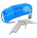 Spiraalslang-perslucht-euro-aansluiting-5-M-met-blaas-lucht-pistool-Luchtpistool--euro-koppelingen