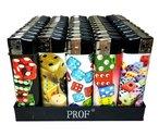 50-X-Dobbelsteen-dice-games-print-aansteker-klik-navulbaar-afbeeldingen