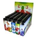 50-X-Aansteker-Vlinders-&-Bloemen-print-klik-navulbaar-afbeeldingen