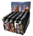 50-X-Aansteker-Vrouwen-Woman-print-klik-navulbaar-afbeeldingen